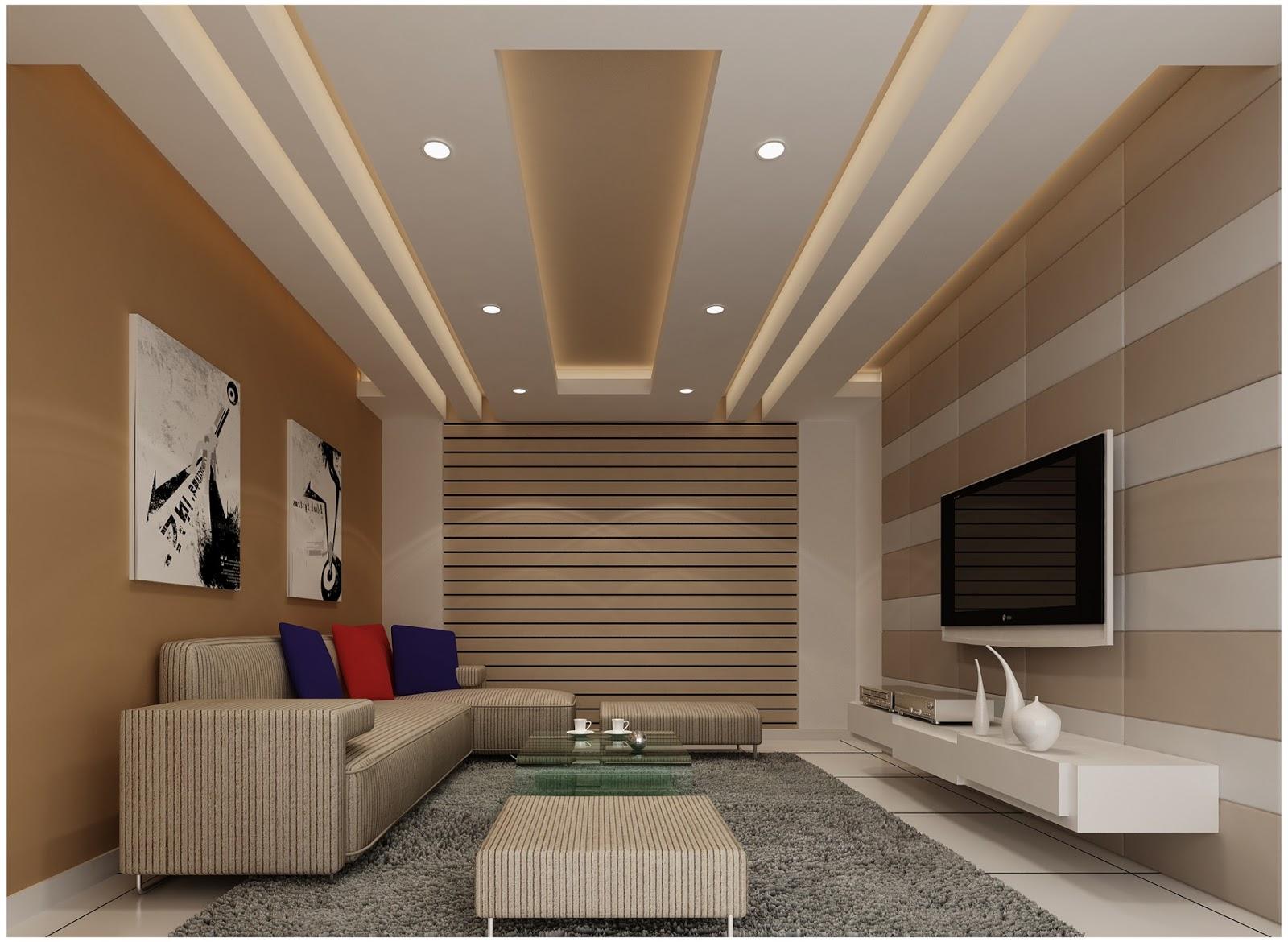 Best 70 modern living room interior designs, POP false ...