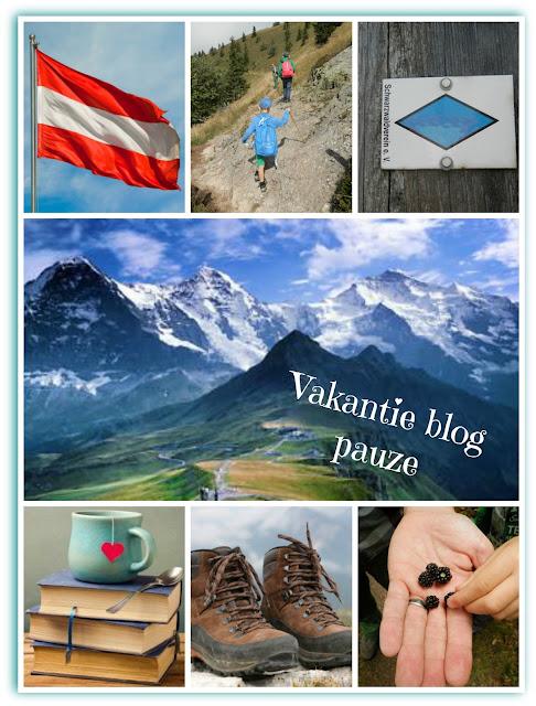 vakantie blog pauze