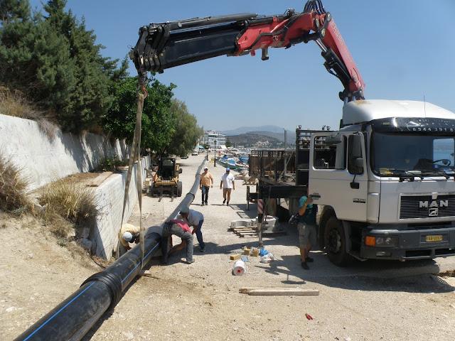 Έργα ζωτικής σημασίας στο Τολό από την ΔΕΥΑ Ναυπλίου - Ο Κωστούρος κάνει πράξη τις προεκλογικές δεσμεύσεις του