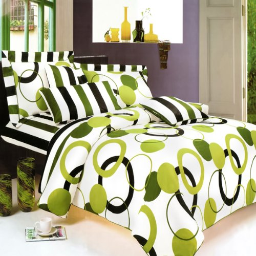 Lime Green Black And White Bedroom Ideas Pop Art Bedroom Ideas Bedroom Door Decorations For Girls Teenage Bedroom Design Tumblr: Lime Green Black And White Bedding