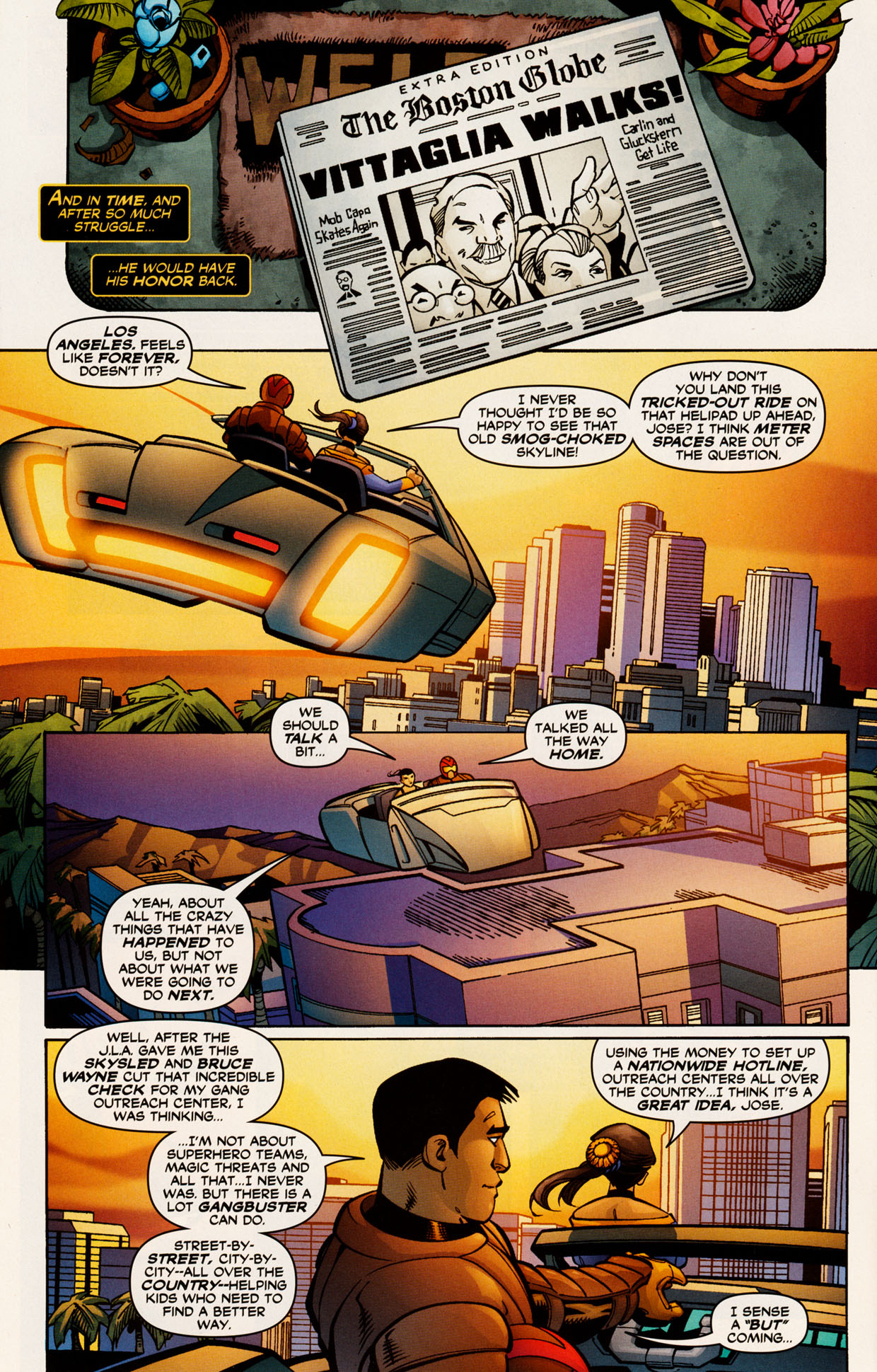 Read online Trinity (2008) comic -  Issue #52 - 21