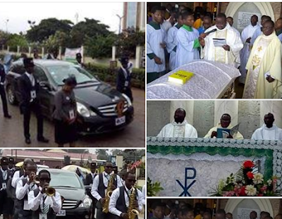 Live Photos From Stephen's Keshi Funeral Service In Benin City. See His Coffin.