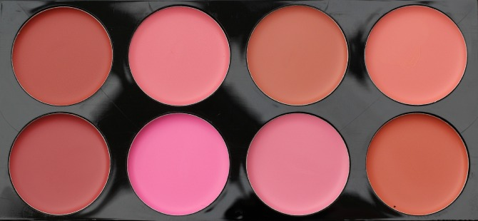All about cream blusher palette