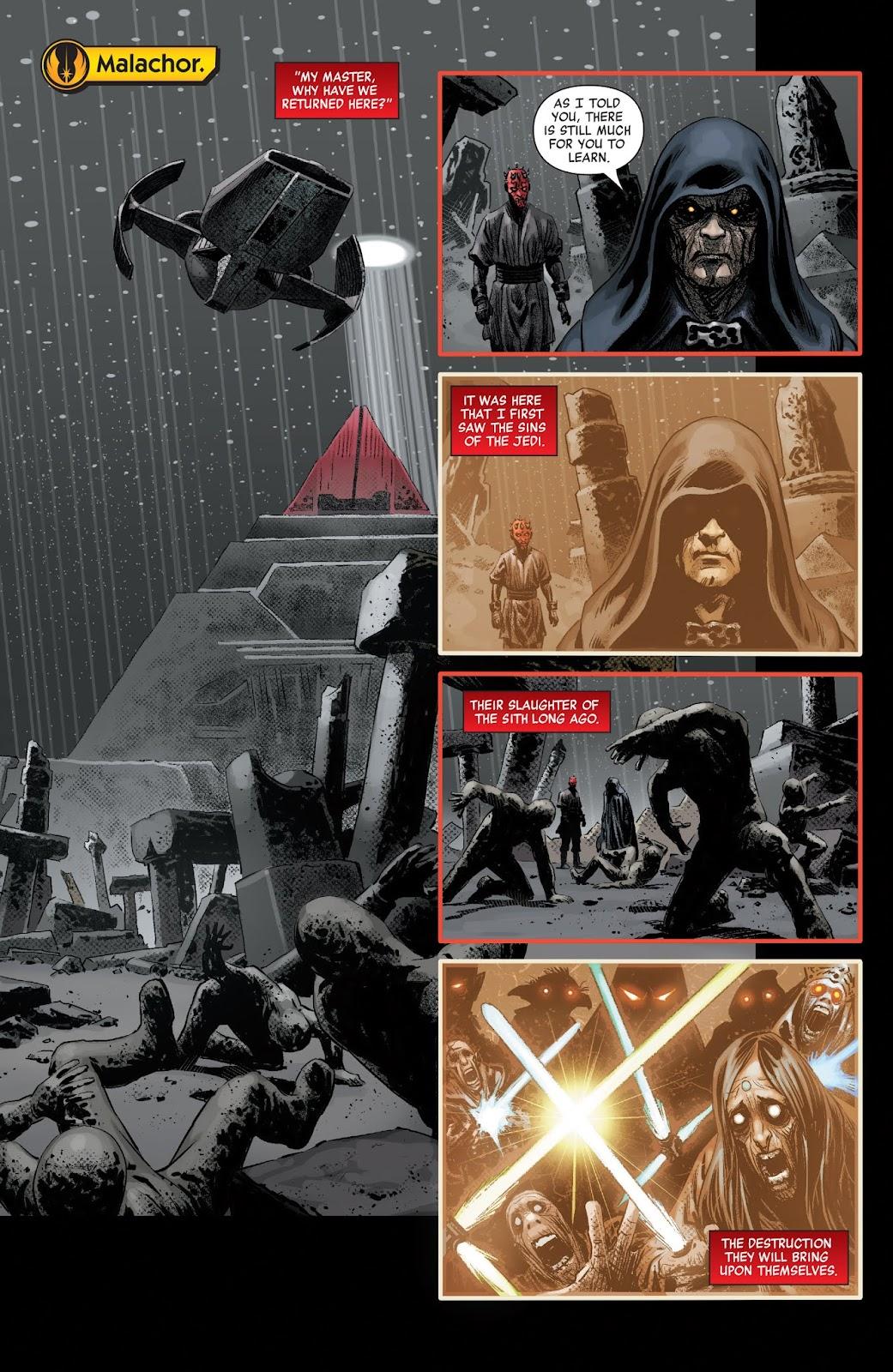 Read online Star Wars: Age of Republic - Darth Maul comic -  Issue # Full - 13