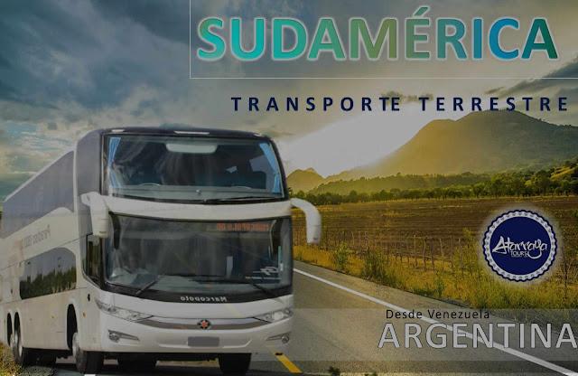 IMAGEN Bus venezuela a argentina