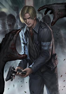 Resident Evil 6, fan-art di chrisnfy85