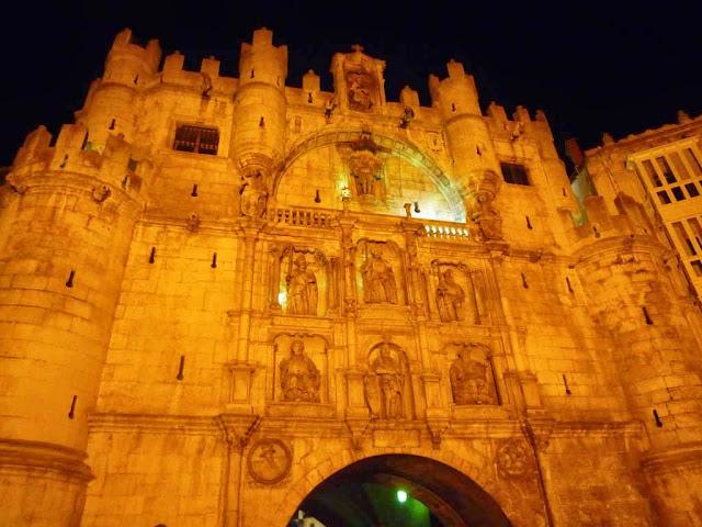 Burgos en el Camino de Santiago Francés