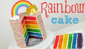 spesialresep.com - Gambar. kue Rainbow Cake