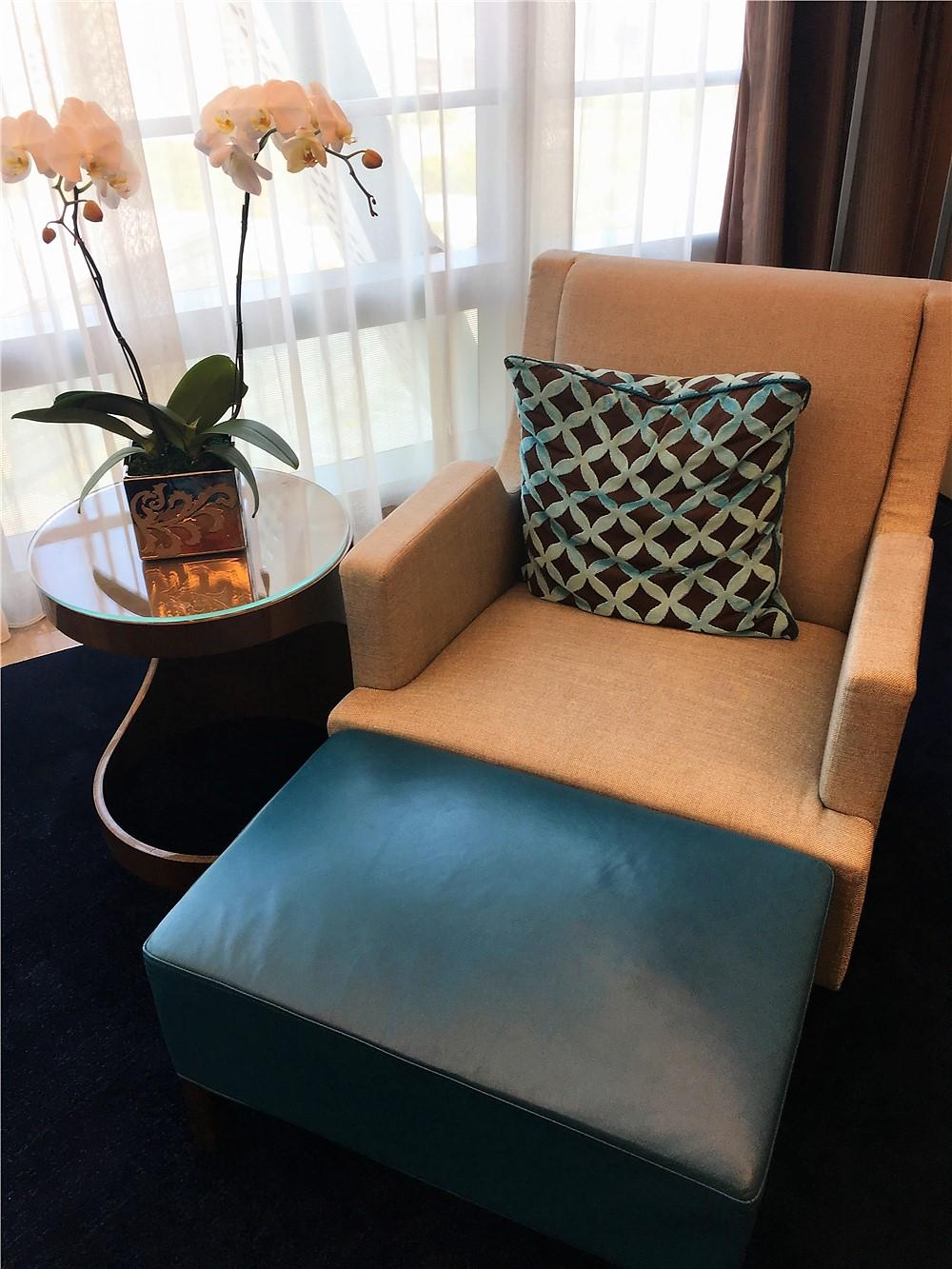 深圳前海華僑城JW萬豪酒店(JW Marriott Hotel Shenzhen Bao'an)-貴妃椅