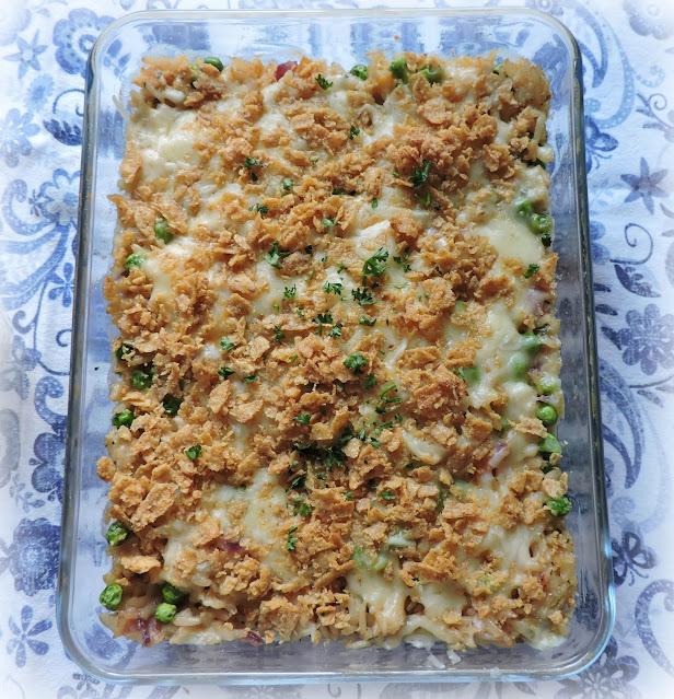 Creamy Parmesan Chicken Casserole