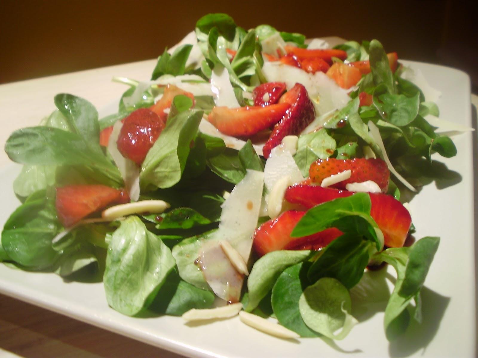 La cuoca in viola insalata di soncino e parmigiano con for Soncino insalata