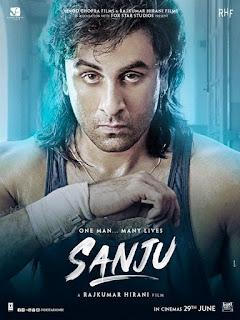 Sanju First Look Poster 3