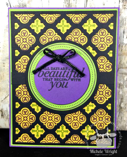 Card, Florentine Filigree, Florentine Thinlits Dies, Stamparatus,