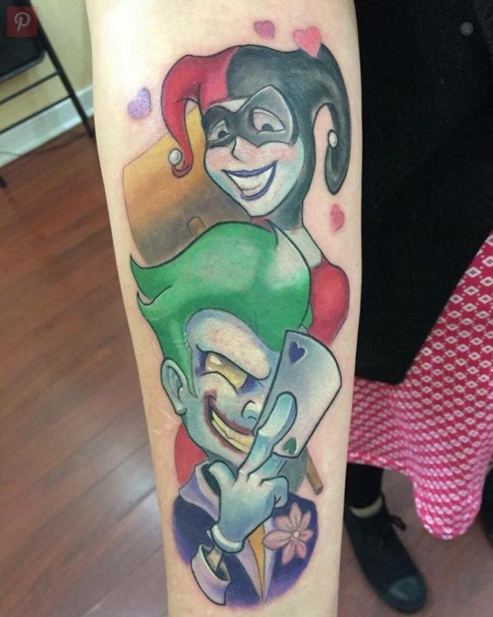 vemos tatuajes de harley quinn