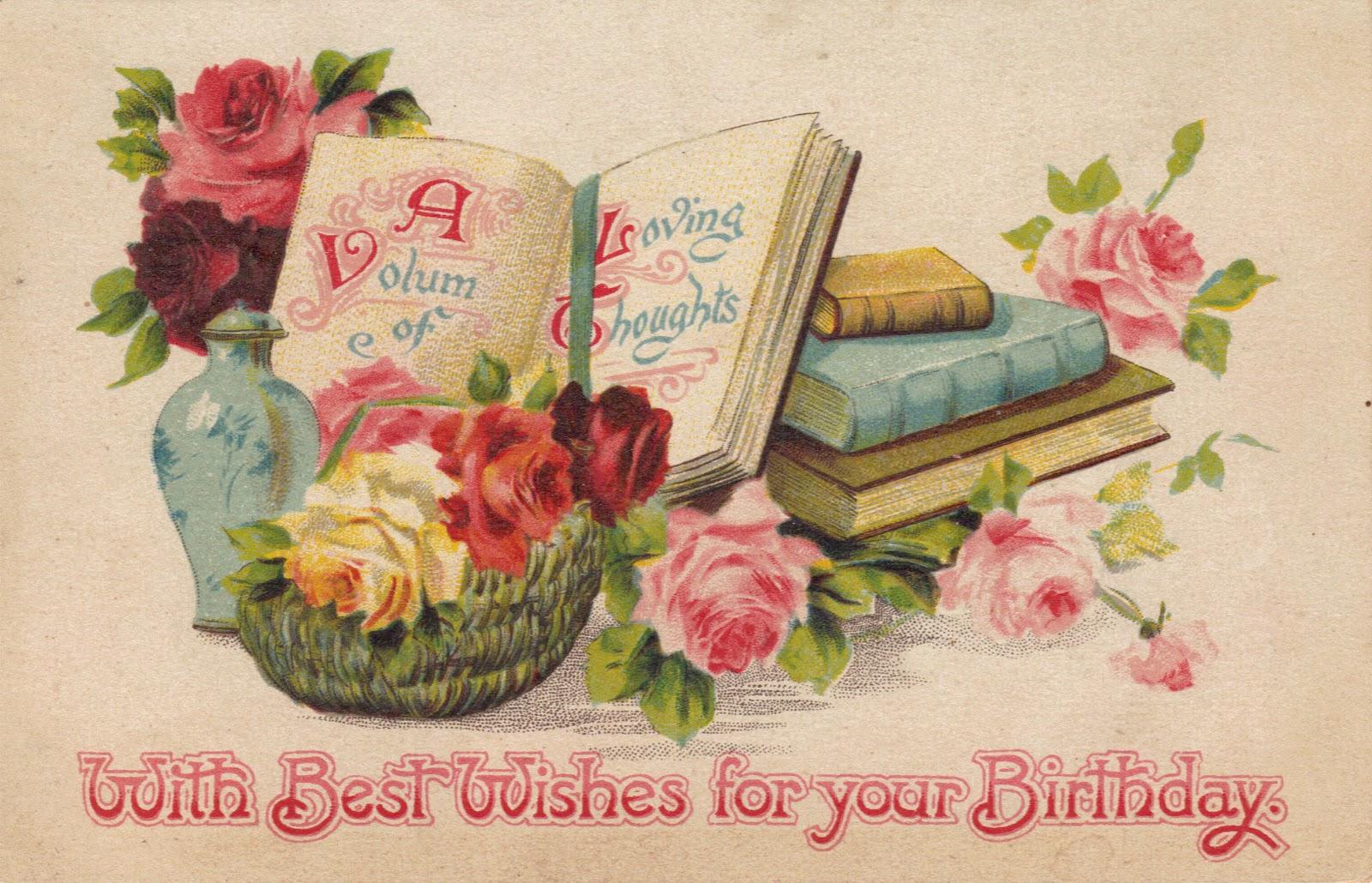 Красивые открытки на английском с днем рождения