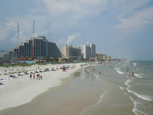 view of Daytona Beach from pier
