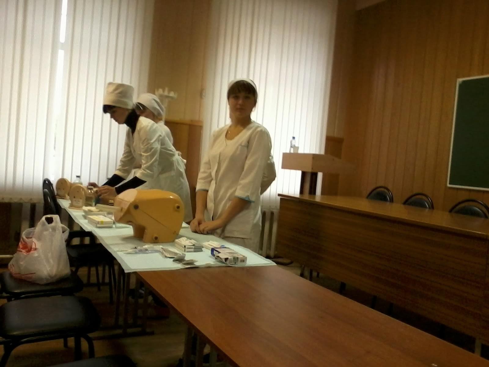 Аттестационная работа медсестры приемного