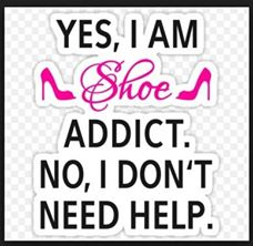 Shoeaholics Badge