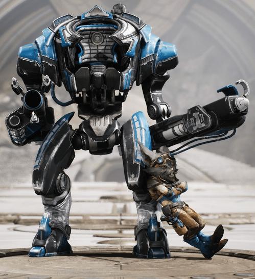 Howitzer challenger skin aspirante