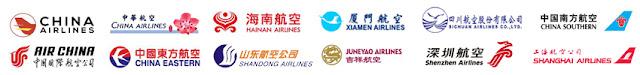 çin havayolları firmaları