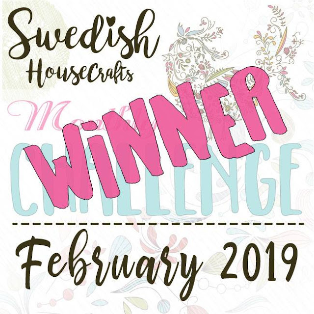 Winner of the February Facebook challenge - new theme for March