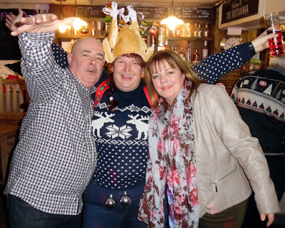 Picture two:  Christmas music night and party at the Britannia Inn, Brigg - December 22, 2018 - picture on Nigel Fisher's Brigg Blog