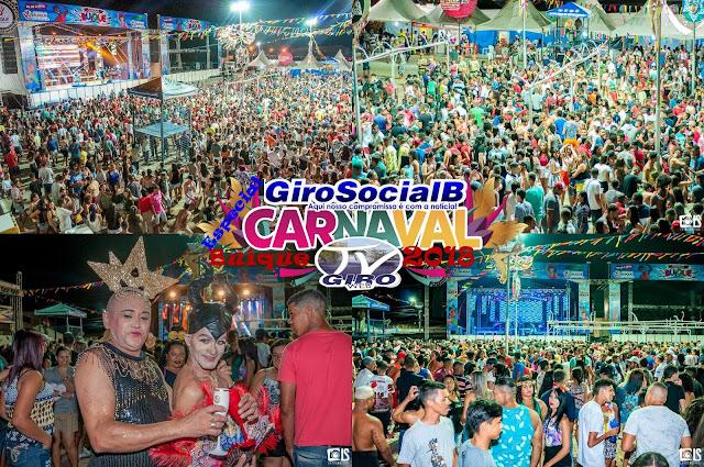 Buíque se rende aos encantos das carmelitas  e dar uma demonstração do que será seu carnaval 2018