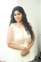 Megha Akash in beautiful Cream Transparent Anarkali Dress at Pre release function of Movie LIE ~ Celebrities Galleries 031.JPG