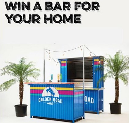 GOLDEN ROAD HOME BAR SWEEPSTAKES