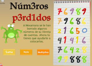 http://www.vedoque.com/juegos/numeros-perdidos.swf?idioma=es