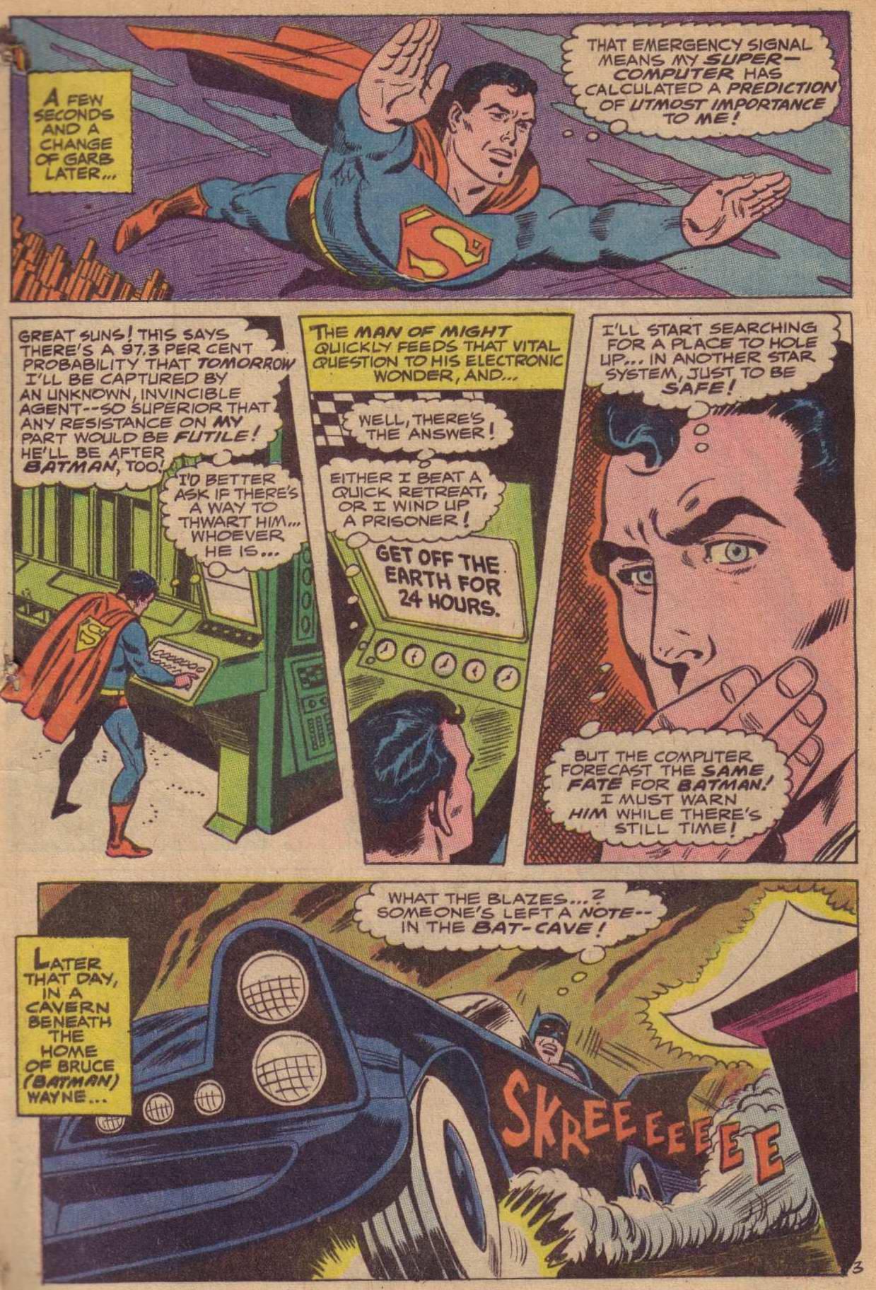 Read online World's Finest Comics comic -  Issue #181 - 4