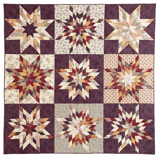 Lone Star Sampler Quilt Free Pattern