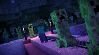 MINECRAFT STORY MODE v1.26 (APK + OBB + UNLOCKED) zombie mode play Free Download - AndroidGamesOcean