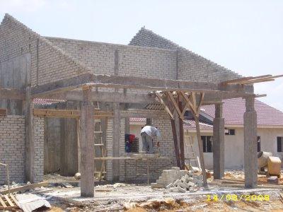 Rumah Saya Semasa Dalam Pembinaan 5 Tahun Dulu