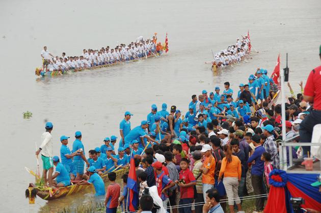Festival des Eaux à Phnom Penh