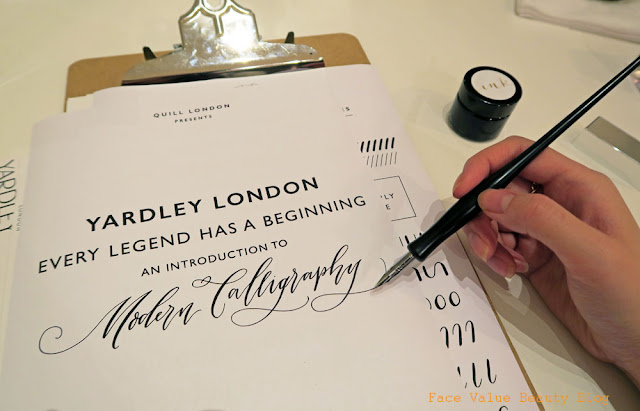 Modern Calligraphy Meets The New Yardley London Hermina Fragrance