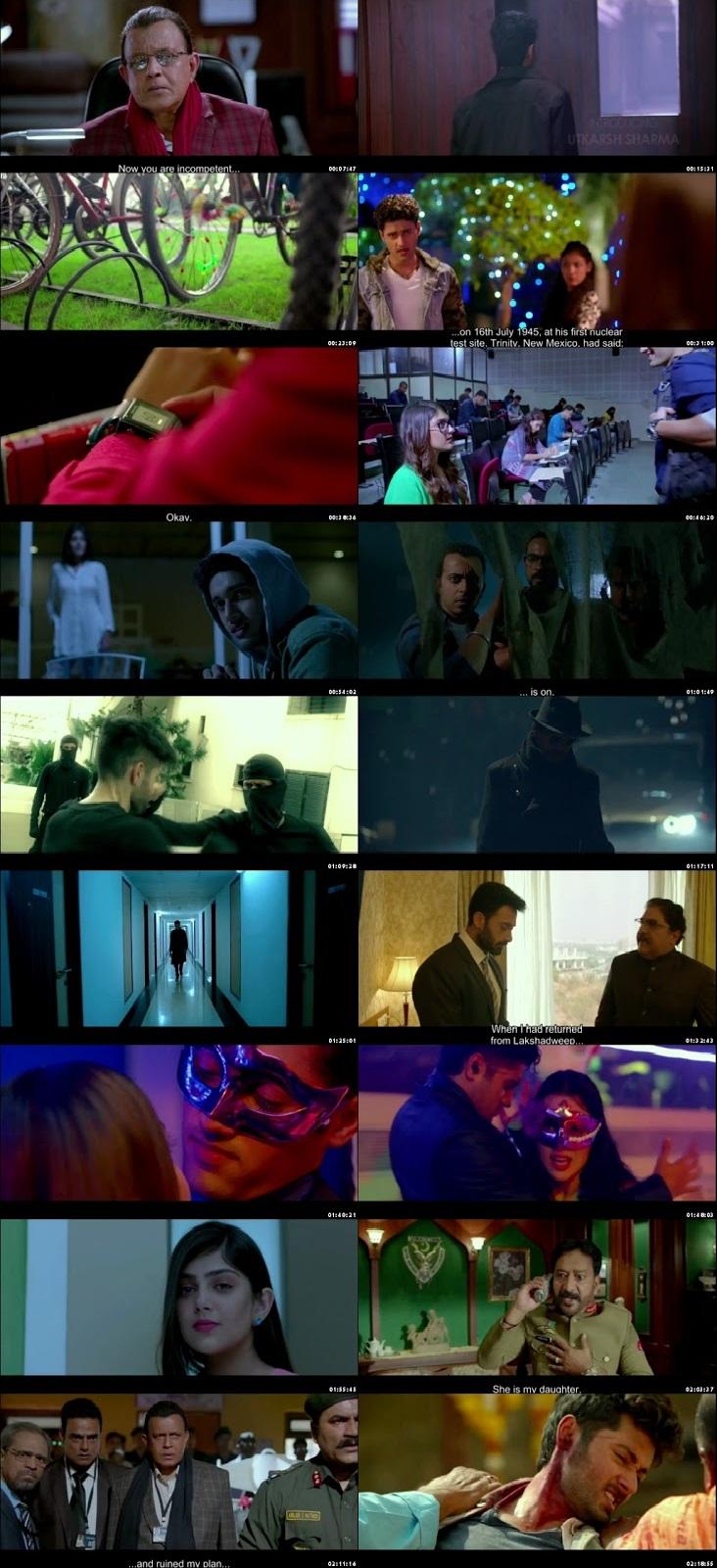 Screen Shot Of Genius 2018 300MB HDRip 480P Full Hindi Movie Watch Online Free Download