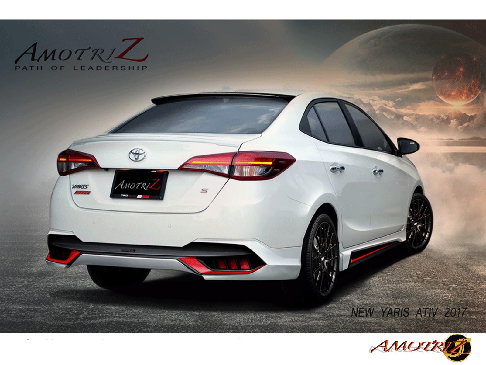 Toyota Yaris Ativ Trd Cara Menyetel Kopling Grand New Avanza ชดแตง Amotriz Bodykits ชดแตงรอบคน