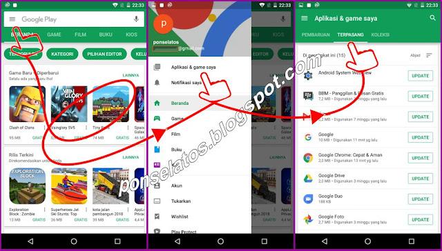Cara Melihat Aplikasi yang terinstal di Ponsel Android