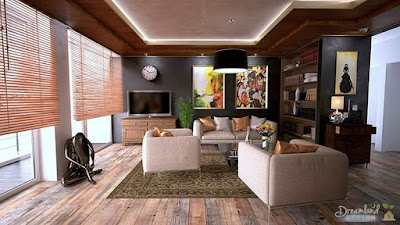 Decorating your square Living room easily to suit your needs