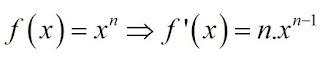 Exercícios resolvidos usando regra de derivação