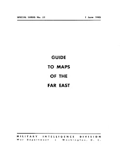 Guide to Maps of the Far East