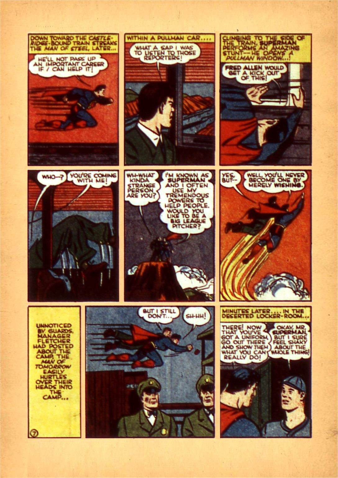 Read online Action Comics (1938) comic -  Issue #50 - 10