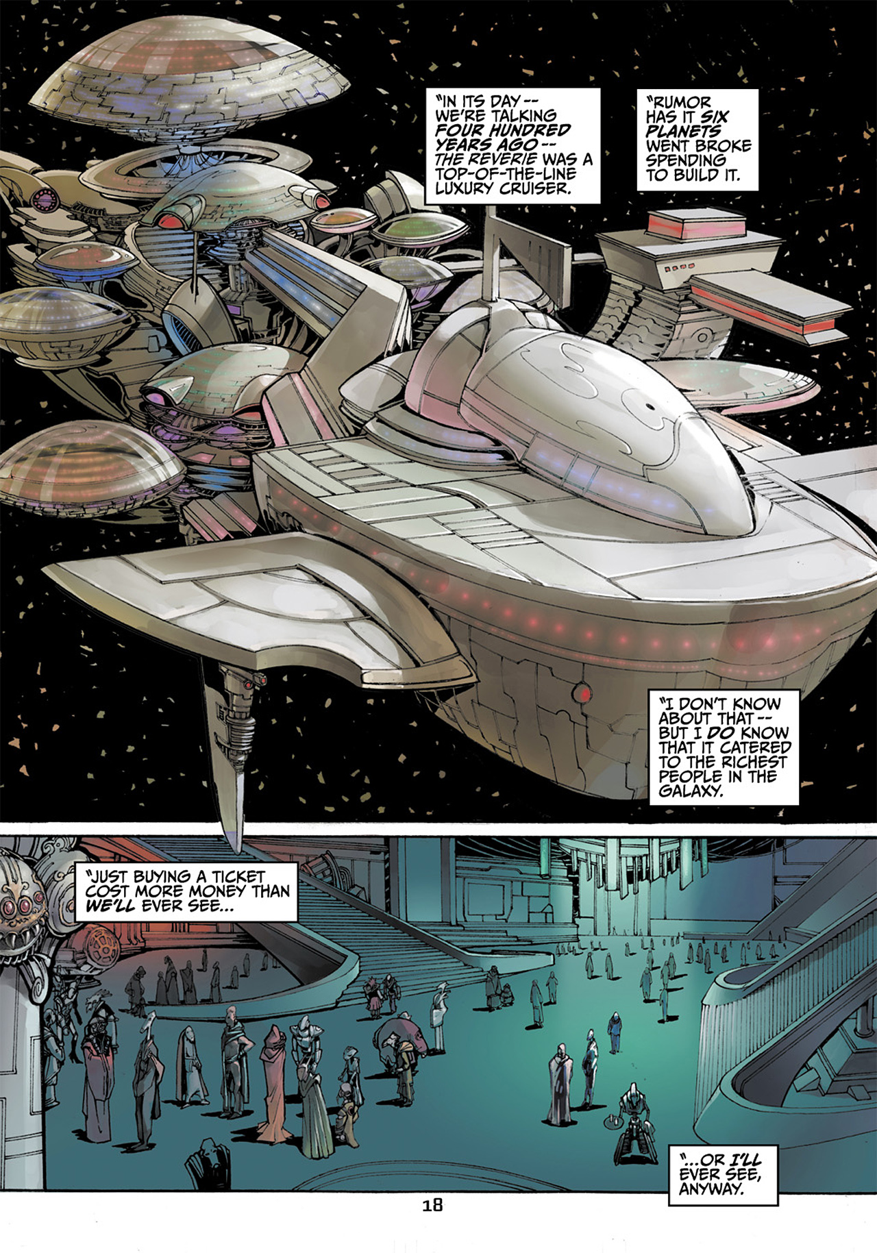 Read online Star Wars Adventures comic -  Issue # Issue Boba Fett and the Ship of Fear - 19
