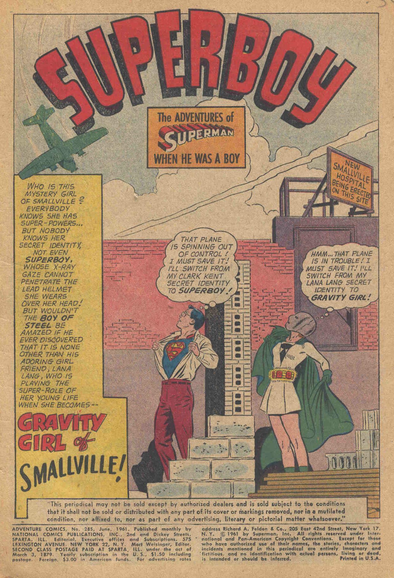 Read online Adventure Comics (1938) comic -  Issue #285 - 3