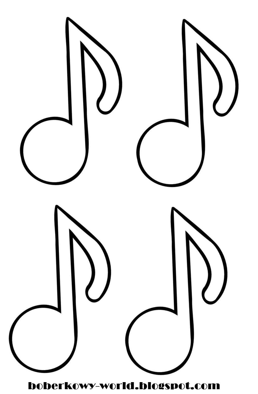 kolorowanka klucz wiolinowy