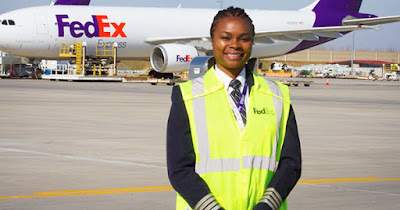 First African American woman pilot for FedEx