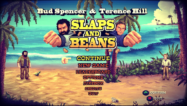 Bud Spencer & Terence Hill Slaps and Beans menu