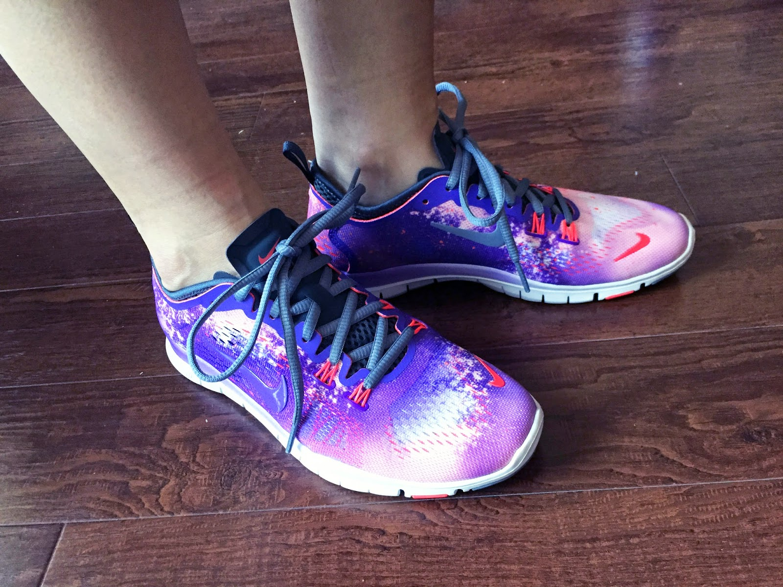 d2254abe7a0d My Superficial Endeavors  Nike Free 5.0 TR Fit 4 Shoes in Purple Venom!