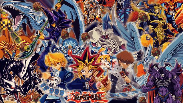 yugioh menjadi anime terbaik dengan tema permainan kartu
